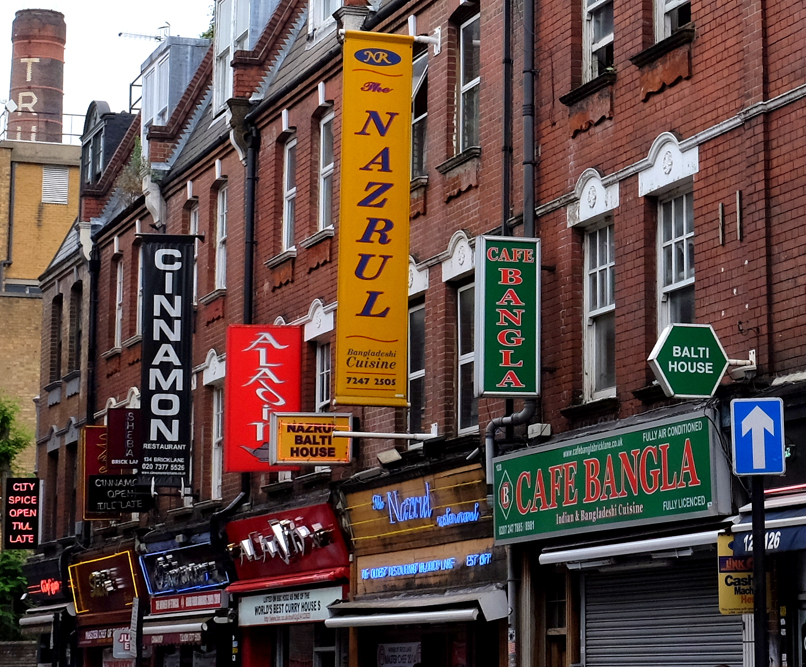 Brick Lane curry houses