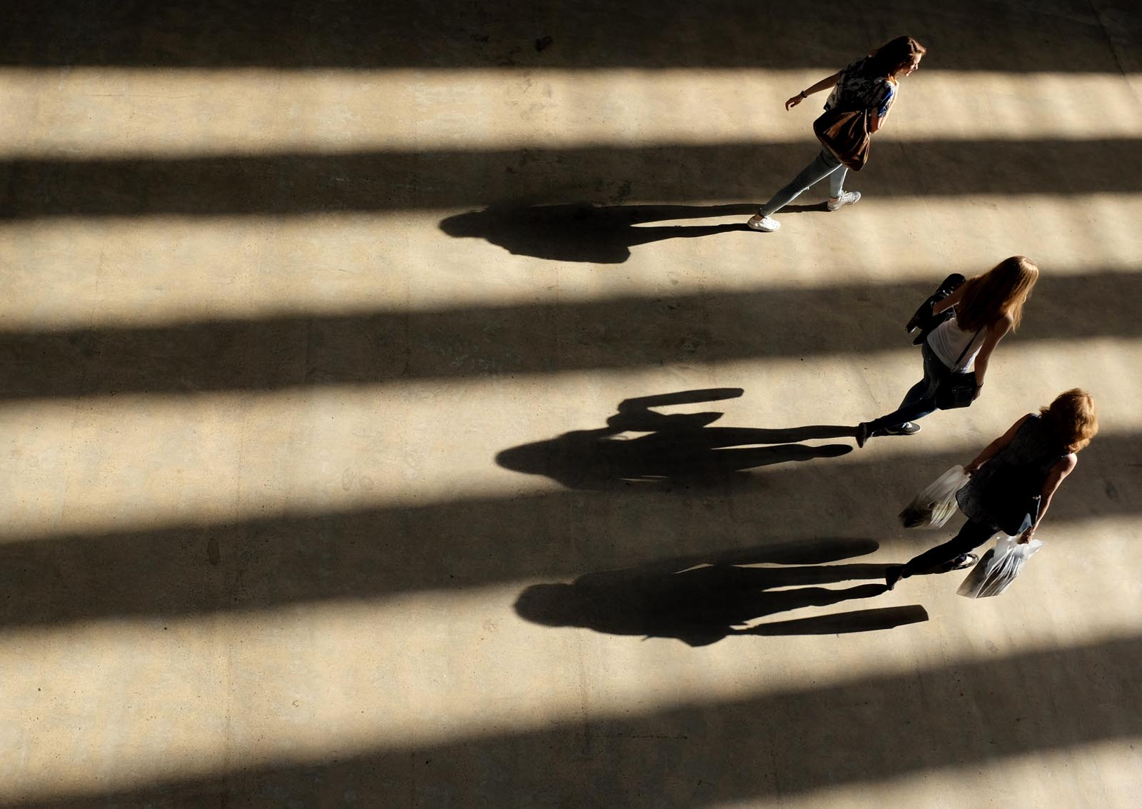 Shadows in the Turbine Hall, Tate Modern