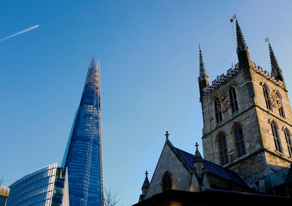 southwark-cathedral-shard